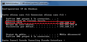 Connaitre Son Adresse Ip Sous Windows 7