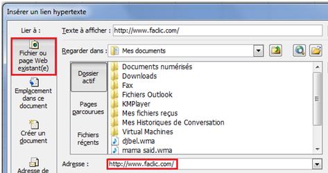 Ajouter Un Lien Hypertexte Dans Une Cellule Excel