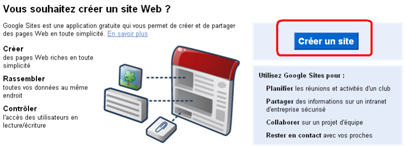 Comment créer un site google sites