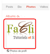 Album d'un contact google plus