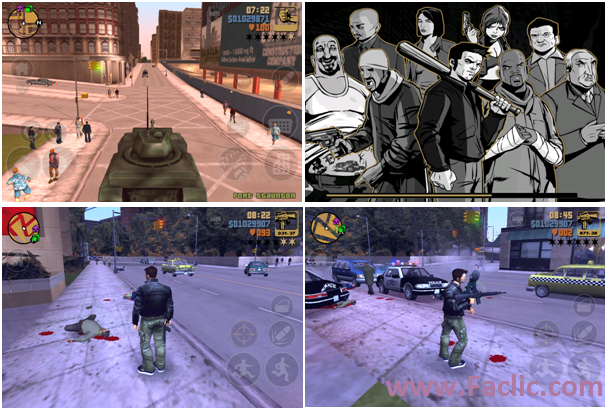 GTA 3 pour iPhone