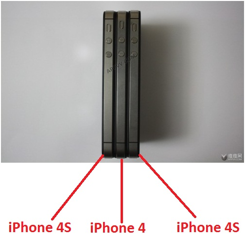 Traits noir iphone 4 et 4S