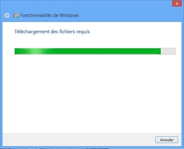 Bouton Paneau de configuration Windows 8