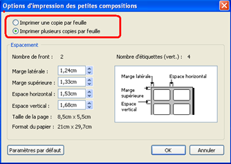 Mise en page et impression d'un document Publisher