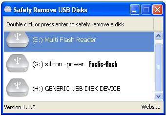 Logiciel pour désactiver le flash-disc