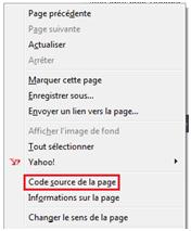Comment Voir Le Code Source D Une Page Web