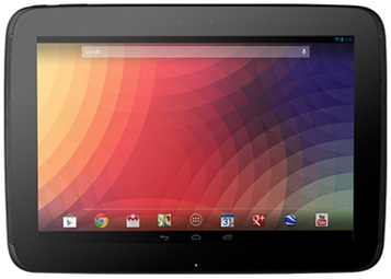 Une tablette nexus 10 avec android 4 2 et cran 330 ppi for Photo ecran tablette samsung