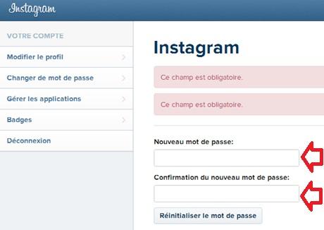 recuperer compte instagram sans email