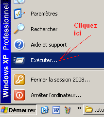 Exécuter un programme Windows