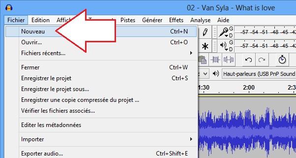 Ouvrir un fichier MP3 sur Audacity