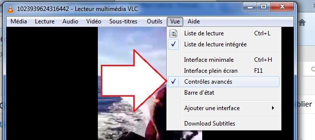 Activer l'enregistrement VLC