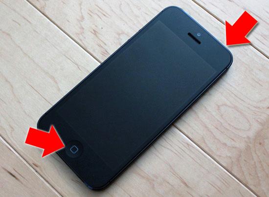 Forcer à éteindre d'iPhone