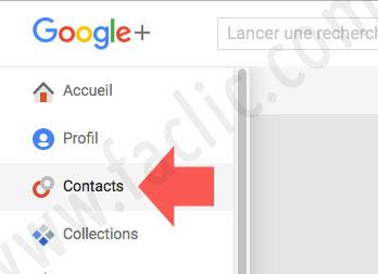Accueil Google Plus