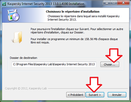 Comment installer kaspersky internet security - Comment installer un raccourci sur le bureau ...