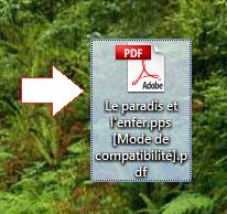 Fichier résultat en format PDF