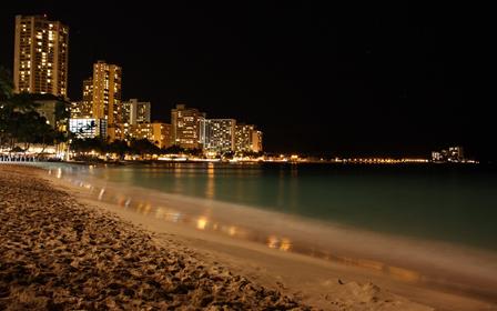 Photo prise dans la nuit