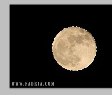 Lune sélectionnée