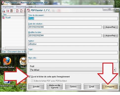 Enregistrer le fichier fusionné résultat