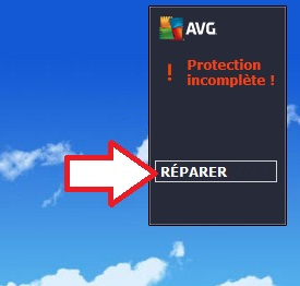 Réparer AVG