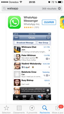 Application Whatsapp