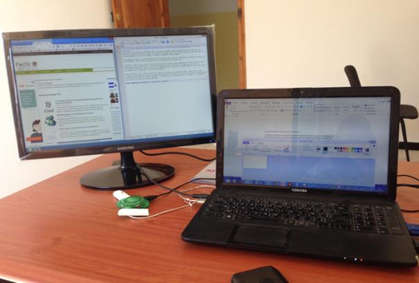 Un seul PC et deux écrans