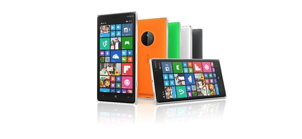 Lumia 830 et 735