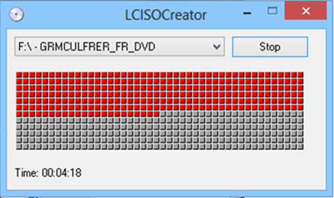 LC ISO Creator, création d'image
