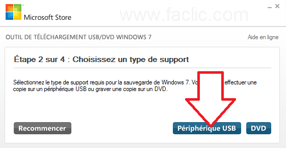 Création d'une version boot Windows 7