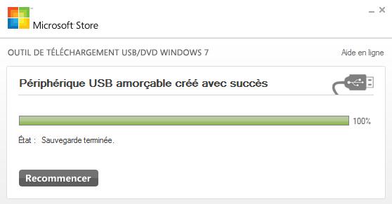 Création d'une version boot Windows 7