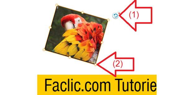 Modifier la postiion, taille et rotation d'image