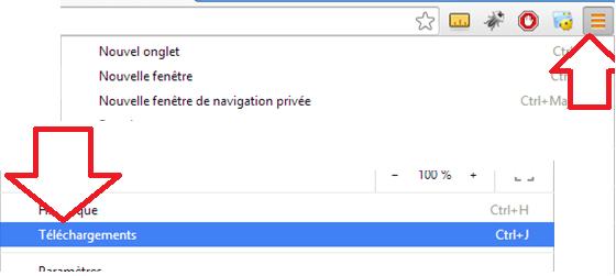 Téléchargement Chrome