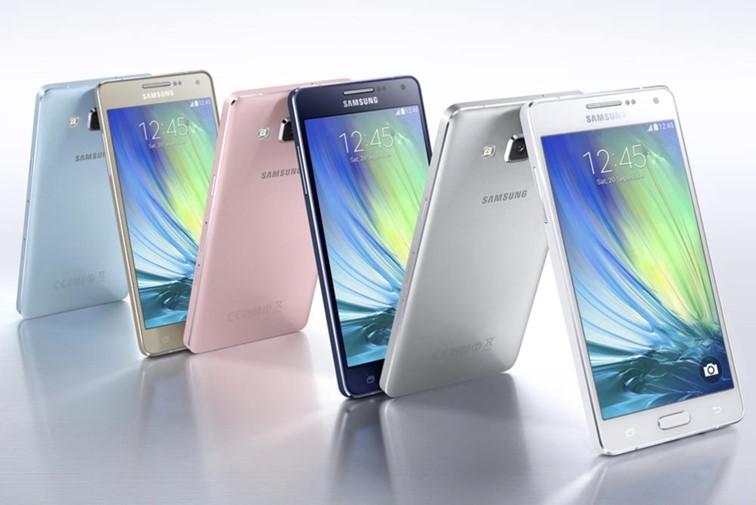 Galaxy A3, A5 et A7