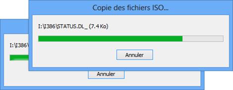 Création d'une clé Windows Bootable