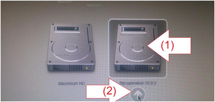 Disque de récupération Macbook