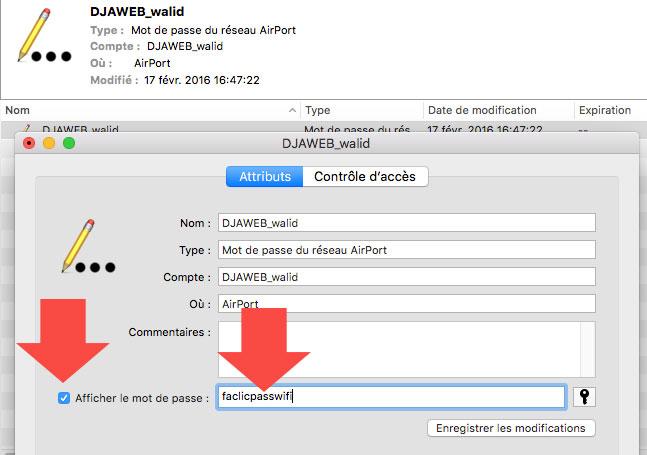 Code Wifi Macbook