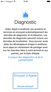 Diagnostique iPhone
