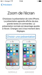 Présentation d'iPhone