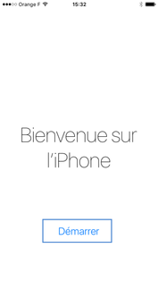 Bienvenue sur iPhone