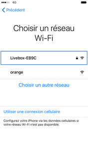 Code Wifi iPhone
