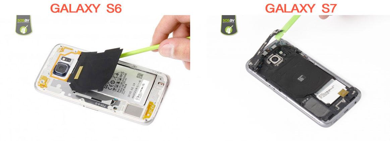 Démonter la nappe NFC et chargeur à induction